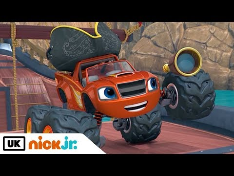 Blaze and the Monster Machines | Race for the Golden Treasure | Nick Jr. UK