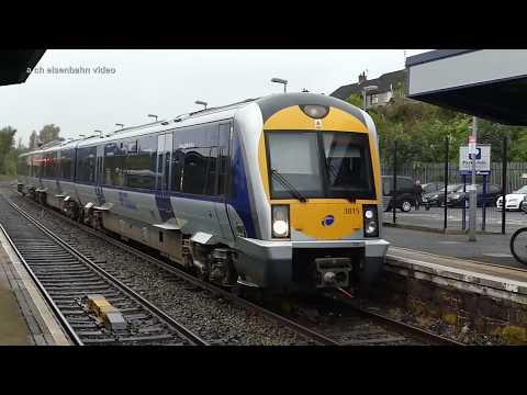 NIR trains at Ballymena
