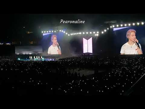 190119 BTS Love Yourself In Singapore (Anpanman + Final Ment + Jimin Promise + Answer Love Myself)