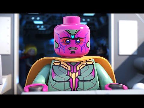 Мстители эра альтрона мультфильм лего