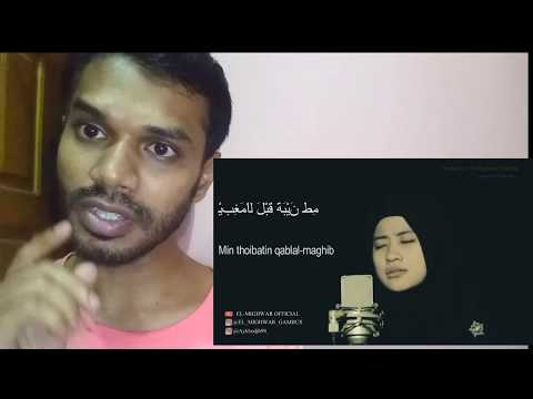 Lau Kana Bainana Al Habib, Cover By. Ai Khadijah El-mighwar Official | Reaction #Twoc