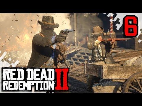 RED DEAD REDEMPTION 2 - EP06 - Shotgun Find And Cougar Attack! (Gameplay Video/Walkthrough)