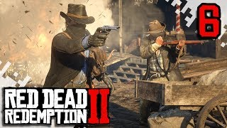 RED DEAD REDEMPTION 2 - EP06 - Shotgun Find And Cougar Attack! (Gameplay Video/Walkthrough)