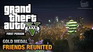 GTA 5 - Mission #21 - Friends Reunited [First Person Gold Medal Guide - PS4]
