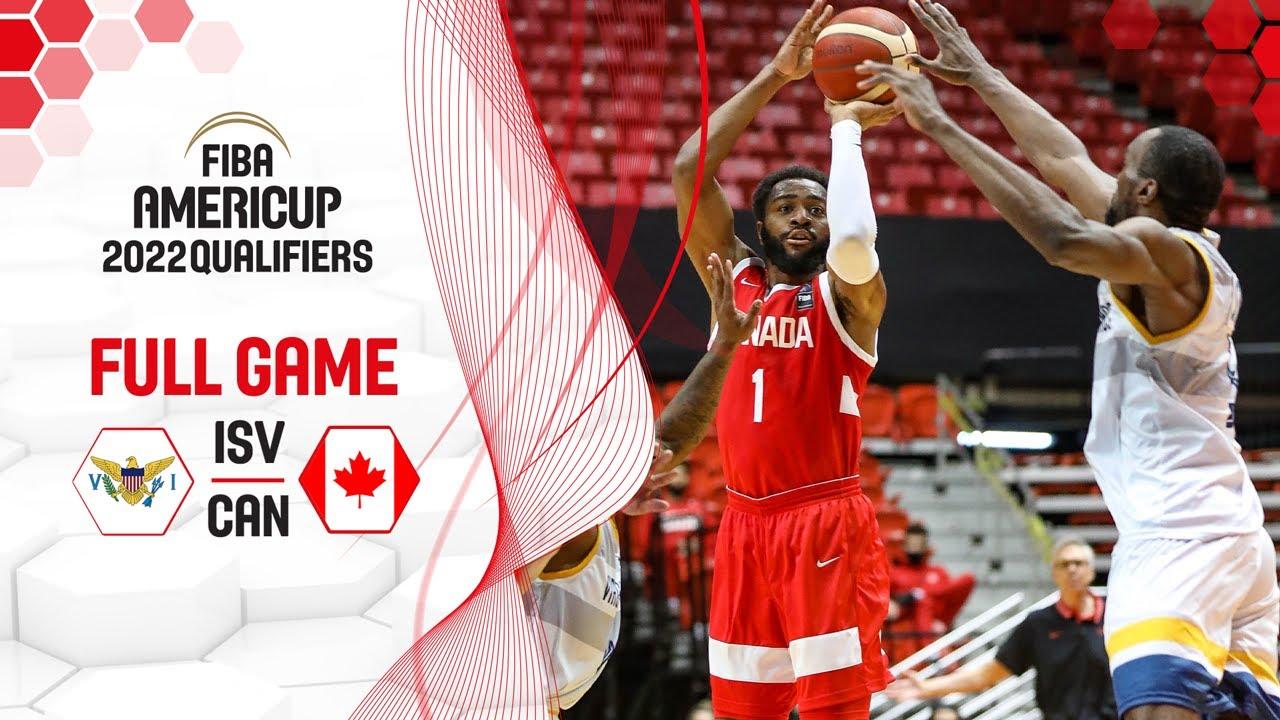 US Virgin Islands v Canada | Full Game - FIBA AmeriCup 2022 Qualifiers