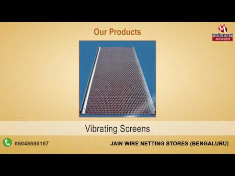 Mesh & Wire Products By Jain Wire Netting Stores, Bengaluru