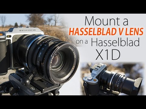 Mount Hasselblad V-mount Lenses On Your Hasselblad X1D! - Hassy V To X1D Lens Adapter