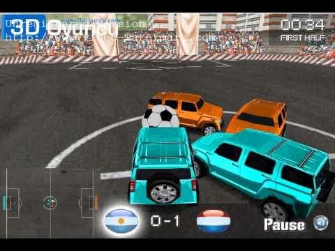 3D Araba Futbolu -3DOyuncu.com - 3D Oyunlar - YouTube