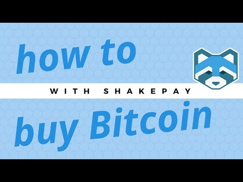Buy Your First Bitcoin With Shakepay In Under 10 Minutes!
