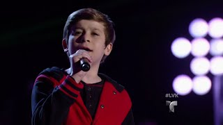 Daniel le pone su sabor a 'Chains' | Audiciones | La Voz Kids 2016