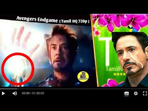 Avengers End Game In Tamil Rockers | Tamil Rockers Leaked Avengers End Game Full Movie In Tamil