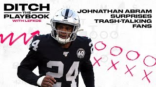 Raiders Rookie Johnathan Abram Surprises Trash-Talking NFL Fans| Ditch the Playbook