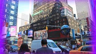 Жизнь в Америке : Прогулка по Нью Йорку. Поездка в штат Нью Йорк, часть 2