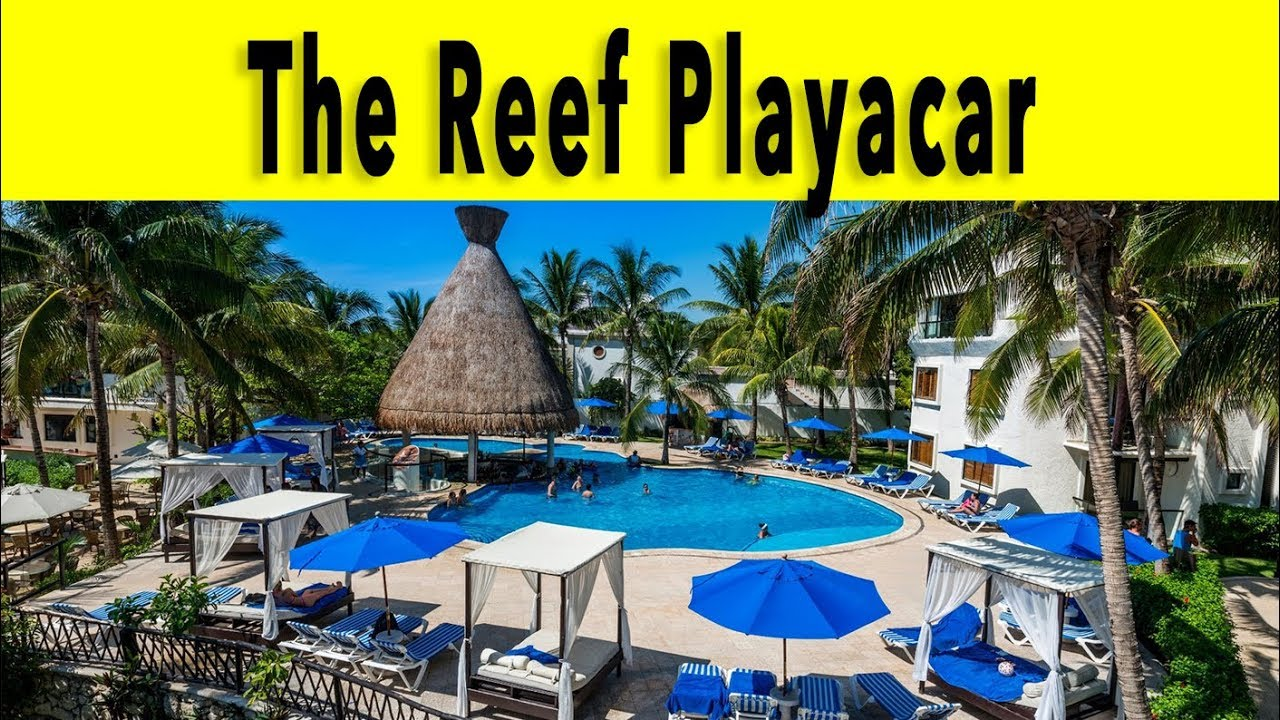 The Reef Playacar All Inclusive Beach Resort 2018 Playa Del Carmen Riviera Maya Mexico