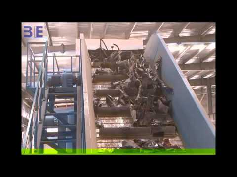3E CAR SHELL RECYCLING LINE