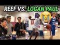 Shareef O'Neal vs LOGAN PAUL 😂 Jesser & LSK In The House For WILD State Playoff Game!