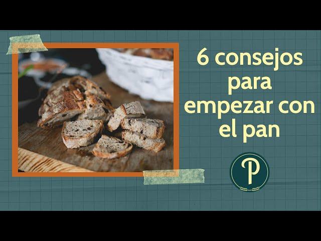 6 consejos (+ BONUS) para panaderos caseros o principiantes // PanPillón - Taller de Panadería