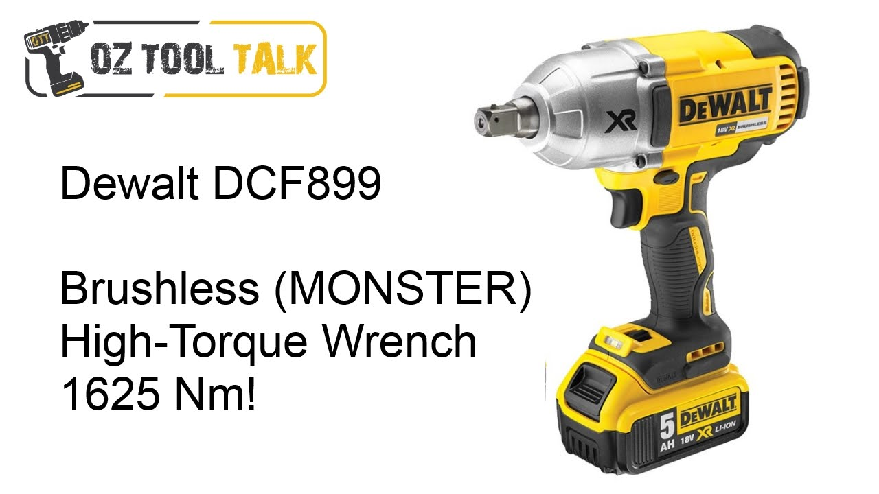 Dewalt Dcf899 18v Brushless High Torque Wrench Review 20v Max