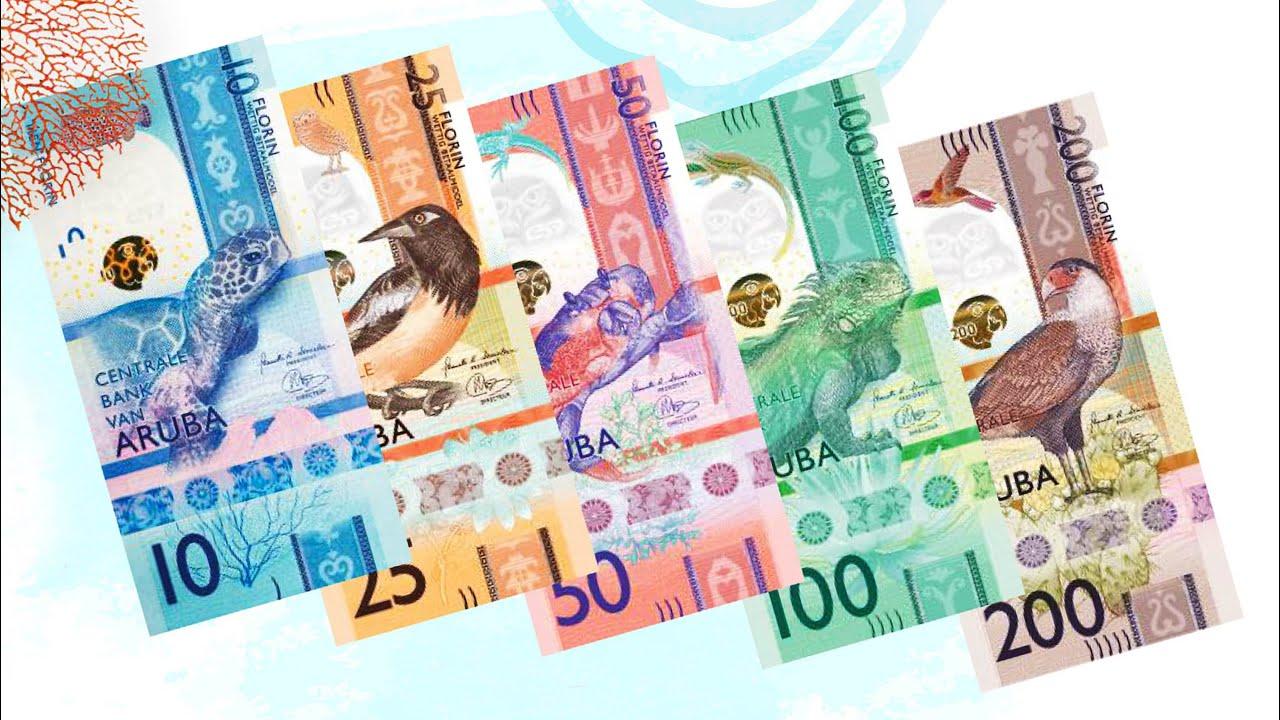 Aruba New Family Banknote Life In