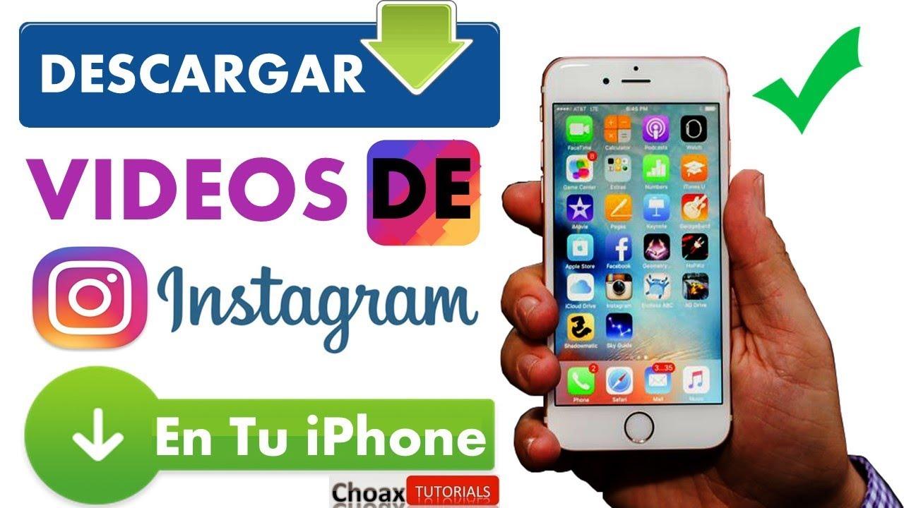 descargar fotos instagram iphone
