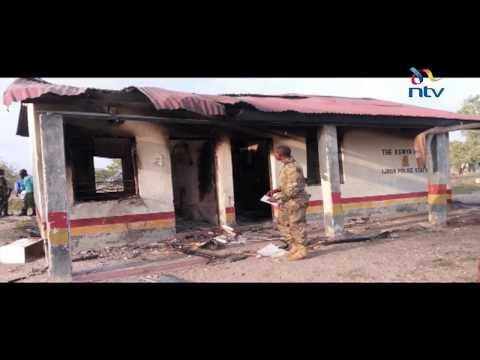 50 men torch Ijara Police Station in Garissa county