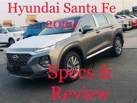 Hyundai santafe 2020 review & specs