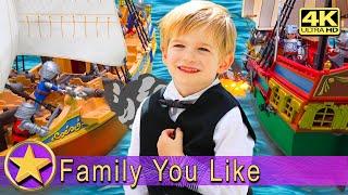 Играем на Кораблях Playmobil Плеймобил  Мультики про Пиратов Pirates   Видео для Детей   4К