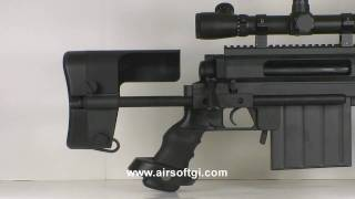 Video Airsoft GI - Ares M200 Gas Sniper Rifle download MP3, MP4, WEBM, AVI, FLV April 2018