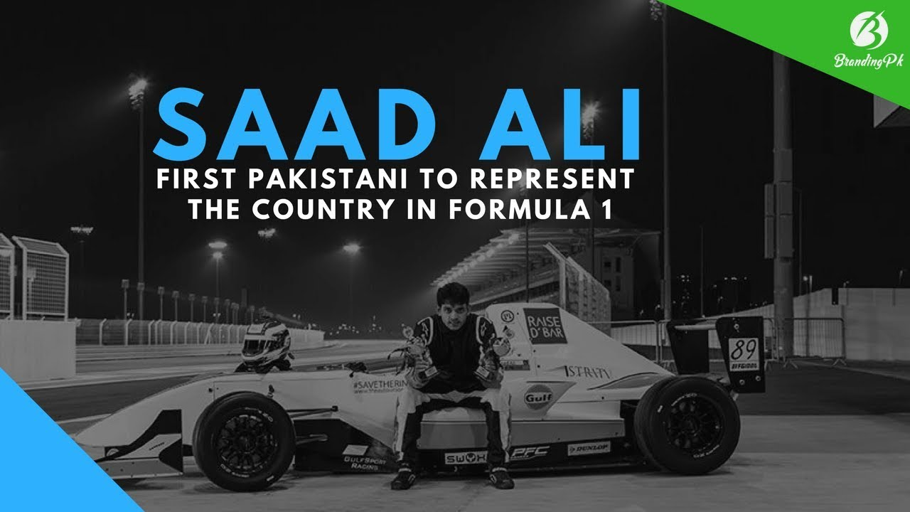 F1: Saad Ali - First Pakistani to Represent the Country in Formula 1 -  BrandingPK