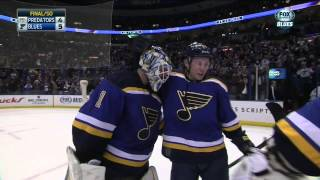 Full Shootout. Nashville Predators vs St. Louis Blues Jan 29 2015 NHL