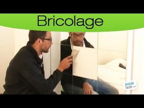 Comment remplacer un miroir cass youtube for Miroir casse
