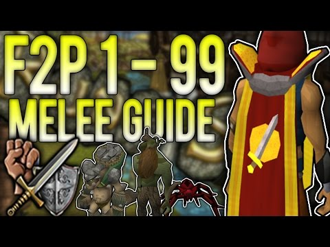 RuneScape 3: FASTEST 1 - 99 Melee Combat Guide [F2P Latest] | Up To 150K XP/HR!