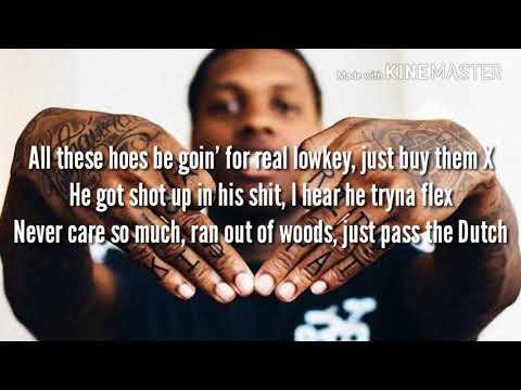 """Lil Durk """" No Auto Durk"""" ( Lyric Video)"""
