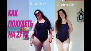 Как похудеть на 27 кг без диет и спорта Часть первая