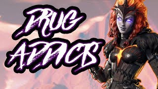 DRUG ADDICTS MONTAGE FORTNITE- TNM GENKAR