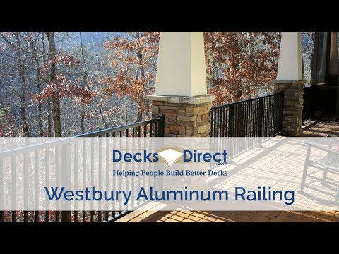 Westbury Aluminum Railing Systems - YouTube