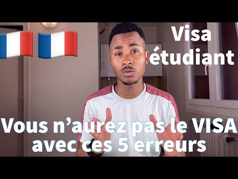 🇫🇷 Campus France: 5 erreurs à éviter pour le VISA étudiant