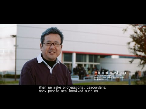Sony internal seminar | Engineers analyze the professional filming work | Sony Professional