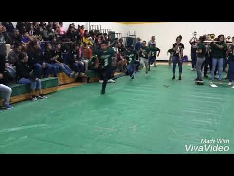 The Lyford Middle School Last Pep Rally of 2017