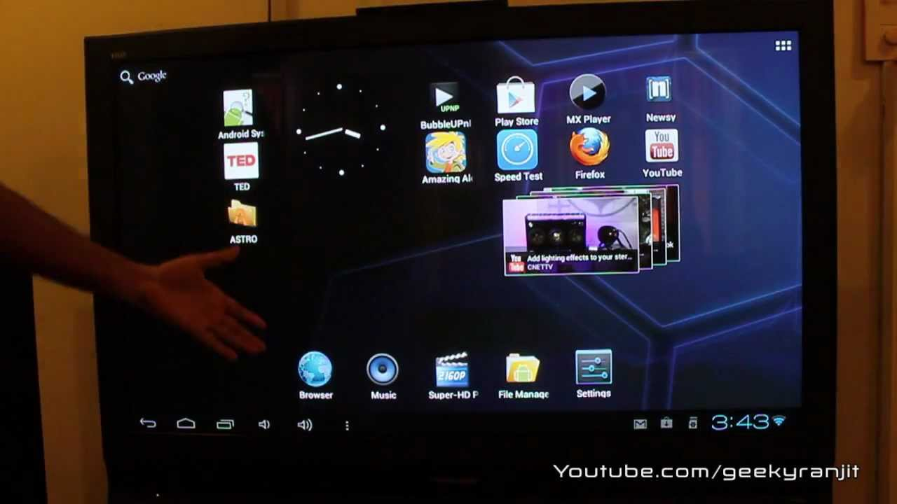 android mini pc as a media player video streaming device