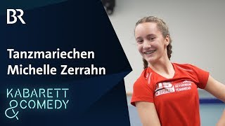 Tanzmariechen Michelle Zerrahn | Fastnacht | BR Kabarett & Comedy