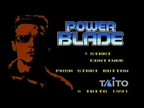 Power Blade - NES Gameplay