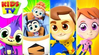 Best Kids Songs | The Supremes | Kindergarten Nursery Rhymes & Cartoon Videos For Babies - Kids TV