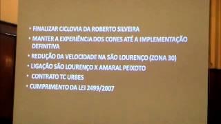 Audiência Pública Plano Cicloviário de Niterói 06.08.2015 parte1/6