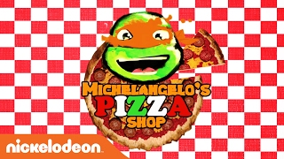Teenage Mutant Ninja Turtles | National Pizza Day: Michelangelo's Pizza Shop | Nick