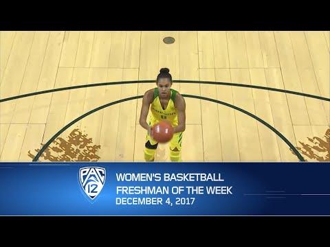 Oregon's Satou Sabally claims Pac-12 Women's Basketball Freshman of the Week