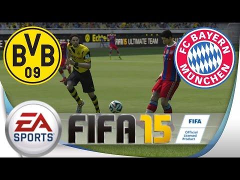 FIFA 15 | Borussia Dortmund Vs. FC Bayern | FULL Gameplay