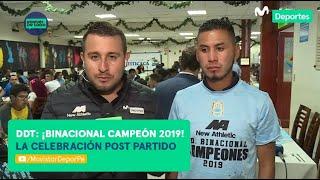 Después de Todo: la celebración de Binacional tras su título en Liga 1 Movistar