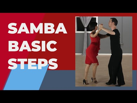 Samba Dance Steps & Technique -  For Beginners