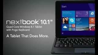 intel quad core nextbook windows 8 tablet 10